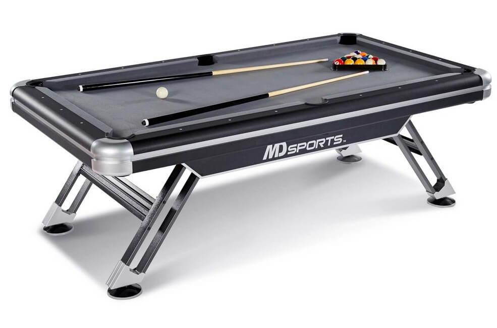 MD Sports 7.5 Titan Pool Table