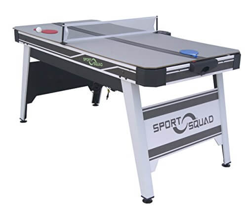 Sport Squad HX66 Air Hockey 66 in. with Table Tennis